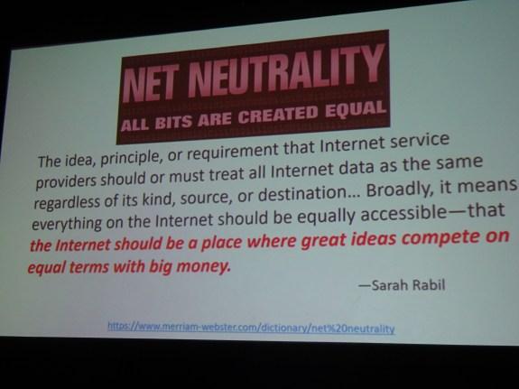 Net neutrality definition