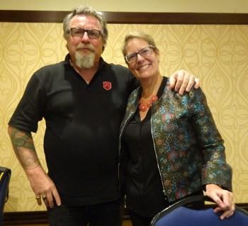 Bill Irwin and Kimberly Silk