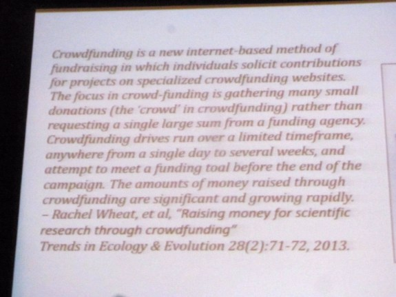 Crowdfunding definition