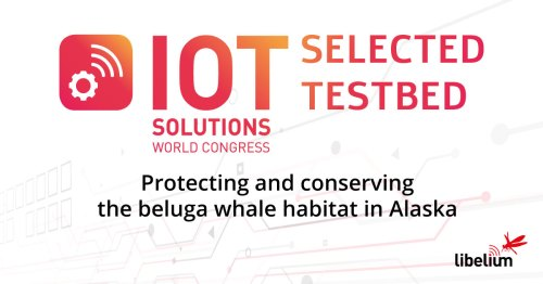 """Libelium Smart Water Testbed """"Protecting and conserving the beluga whale habitat in Alaska"""""""