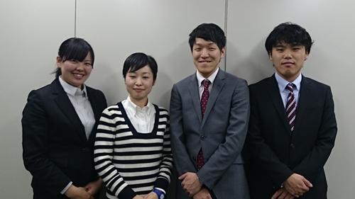2015年新入社員!よろしくお願いします!