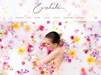 Exhale2016年春夏ブランドサイト