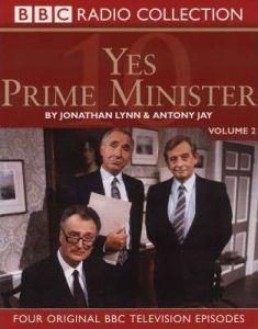 Faksimile av lydbokutgaven av Yes, Prime Minister. BBC.