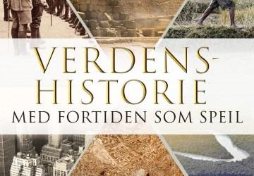 Forsiden på Terje Tvedts bok Verdenshistorie, med fortiden som speil