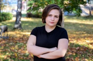 Edel-Marie Haukland er leder i Kristelig folkepartis Ungdom. Foto: KrFU.