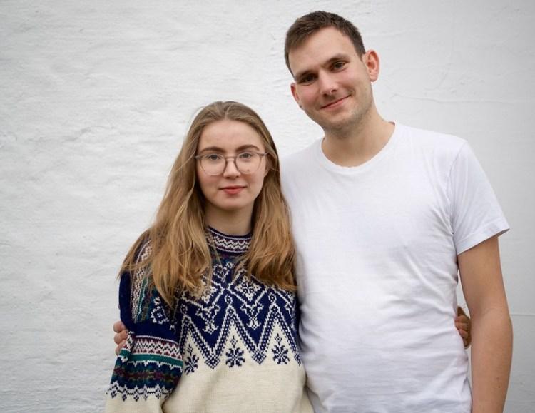 Hulda Holtvedt og Teodor Bruu er talspersoner for Grønn ungdom. Foto: Grønn Ungdom CC.BY.SA.