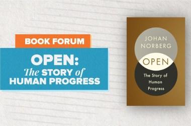 Cato Book Forum Open av Johan Norberg