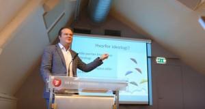 Ove Vanebo på Fremtidskonferansen 2015, en konferanse i regi av FpU.