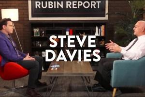 Stephen Davies på Rubin Report. Skjermdump fra Learn Liberty.