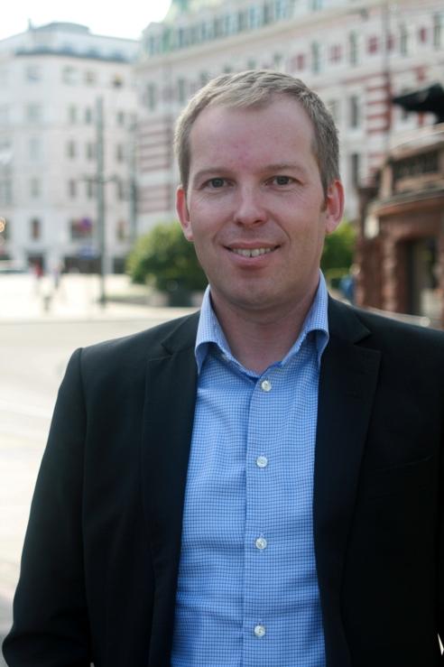 Håkon Haugli, kandidat for Oslo Arbeiderparti.
