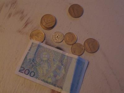Skattedebatten dreier seg om småpenger. (Illustrasjonsfoto)