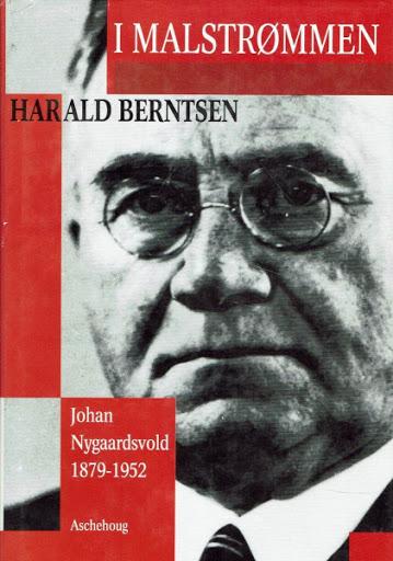 Forsiden på boken I malstrømmen av Harald Berntsen.