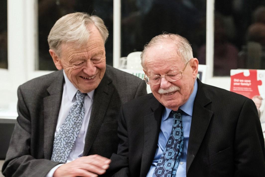 Lord (Alf) Dubs and Rabbi Harry Jacobi