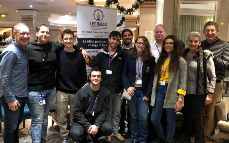 Leo Baeck Education Centre students at Limmud