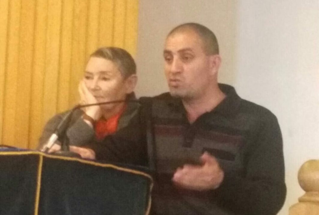 Bassam and Robi of the Bereaved Families Forum