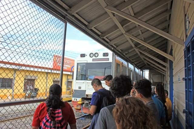 Incofer Tren Urbano, Heredia, Costa Rica.