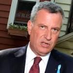 Photo of NYC Mayor Bill de Blasio