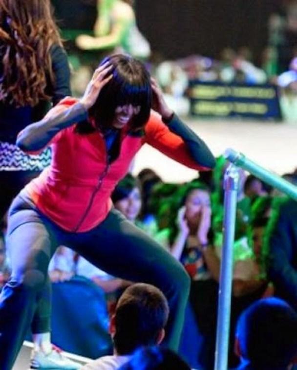 first lady twerking