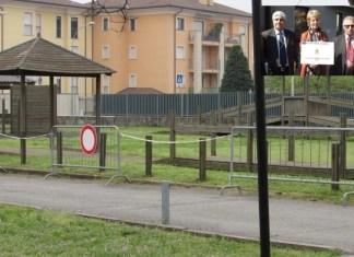 parco giochi bambini san vittore olona petizione genitori contro sindaco