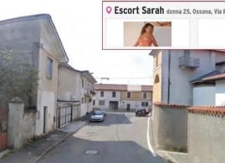 ossona escort centro storico case via roma prezzi