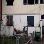 Incendio a Ponte Vecchio nelle case comunali