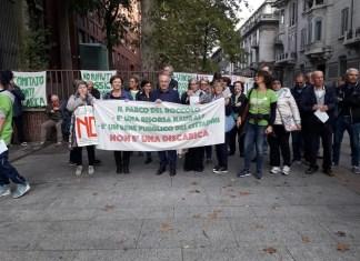 Protesta dei sindaci contro il progetto di Solter