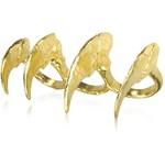 Liberata Dolce Polyvore Fall Fashion Style Claw Ring Balmain Board