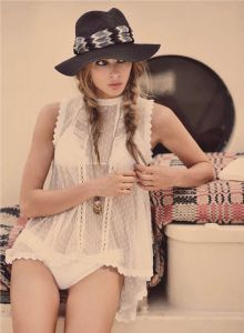 free people hat bohemian fashion accessories boho gypsy soul coachella style festival
