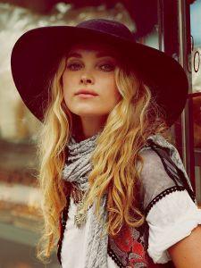 free people matador hat coachella festival fashion style bohemian boho gypsy soul
