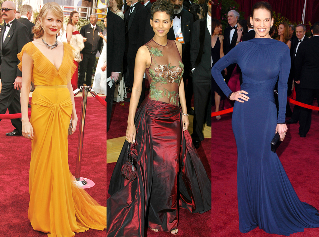 liberata dolce oscars best dressed history halle berry michelle williams hilary swank