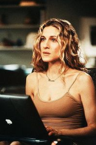 carrie bradshaw sex & the city necklace iconic accessories fashion