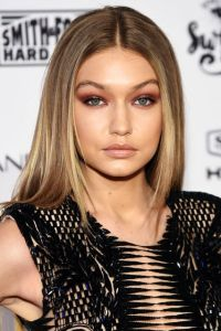 gigi hadid monochromatic makeup sports illustrated beauty blog liberata dolce