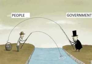 government stealing fish
