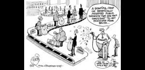 Conveyor Belt Politician