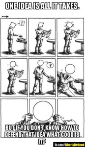 Square Mind Becomes Circle