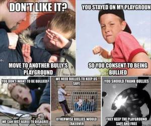 Statist Bully on the Playground
