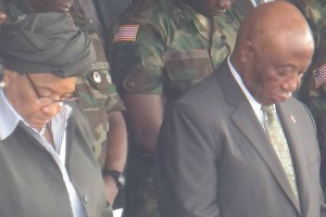 Pres. Sirleaf and VP Boakai