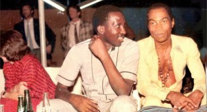 Fela-Anikulapo-Kuti-Thomas-Sankara-Burkina-FasoB-1987 (20 Amazing Facts About Thomas Sankara)