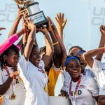 Now, thousands of miles from home and despite long odds, those same girls are blazing their own path. Monrovia Academy's under-15 girls' soccer team made history in Minnesota, marking the first time a Liberian female youth soccer team left the country for a tournament.