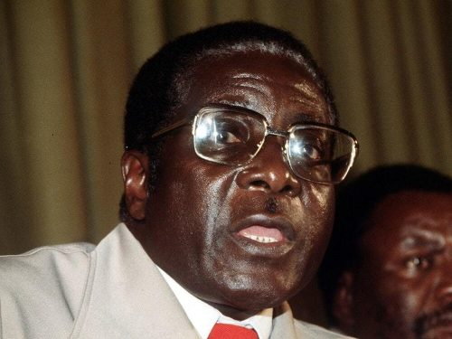 """Do you want me to punch you to the floor to realize I am still there?"" Mugabe told an interviewer from state television who asked him in early 2016 about retirement plans.mAfter the fighting between black guerrillas and the white rulers of Rhodesia, as Zimbabwe was then known, ended, Mugabe reached out to whites. The self-declared Marxist stressed the need for education and built new schools. Tourism and mining flourished, and Zimbabwe was a regional breadbasket."