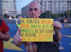 """Protestul de peste 500 de zile al nepotului lui Constantin Noica – Niculae Rădulescu Dobrogea: """"Poporul nostru e un popor de trestie, se apleacă după cum bate vântul."""""""