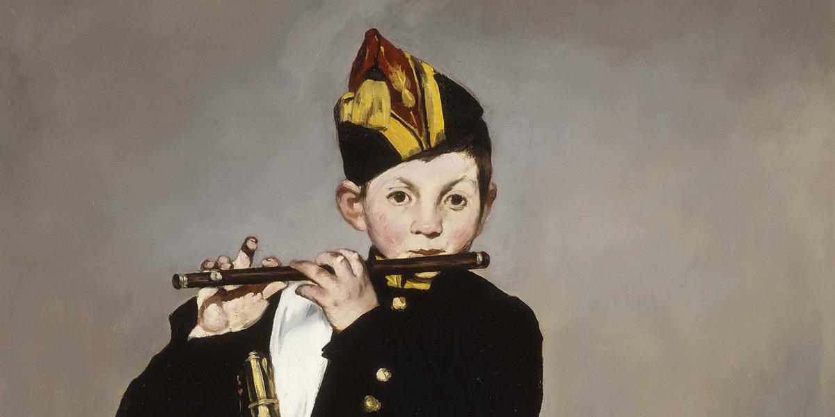 Il pifferaio (Le Fifre) di Édouard Manet