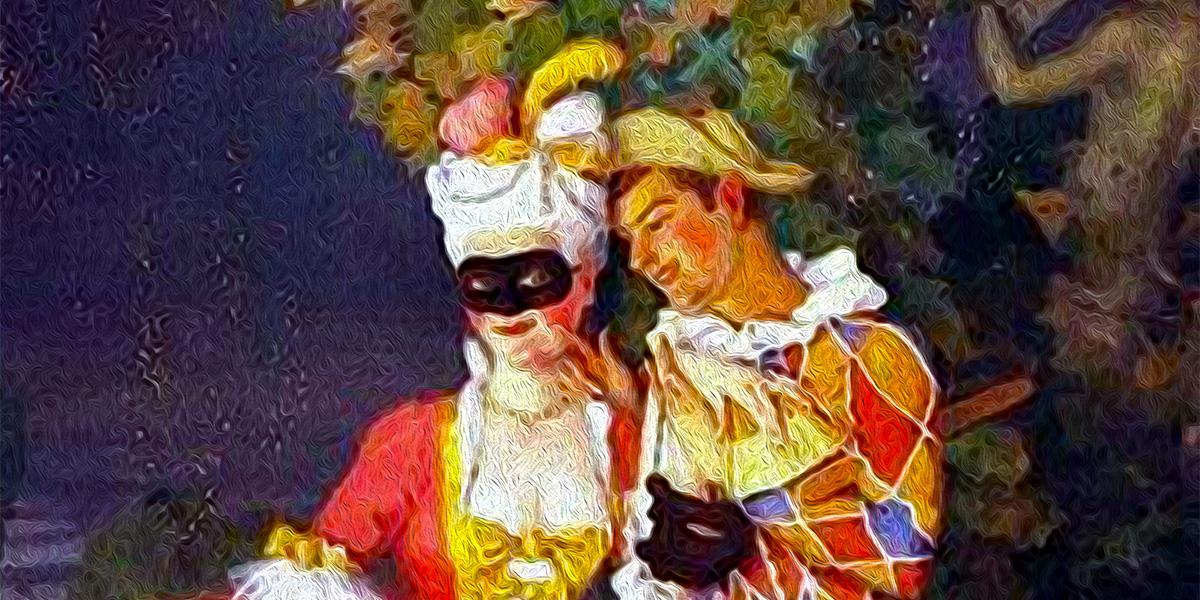 """Harlequin and a Lady"" di Konstantin Somov (1869–1939)"