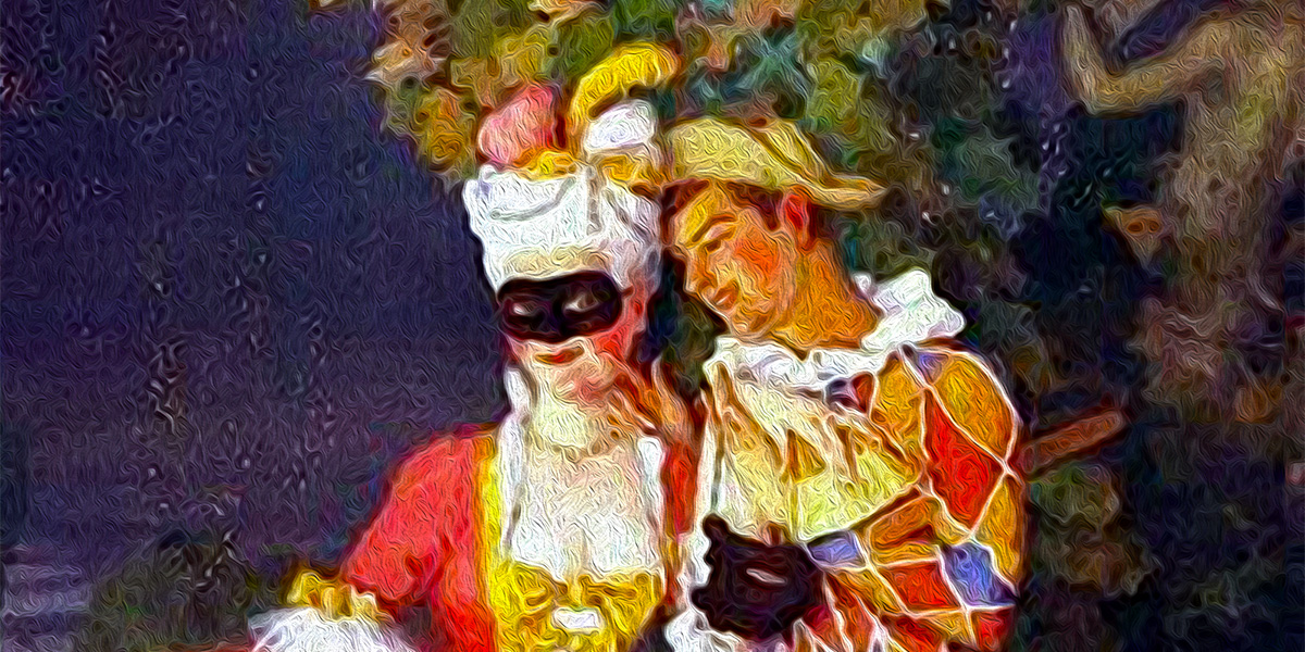 """Harlequin and a Lady"" di Konstantin Somov (1869–1939)"
