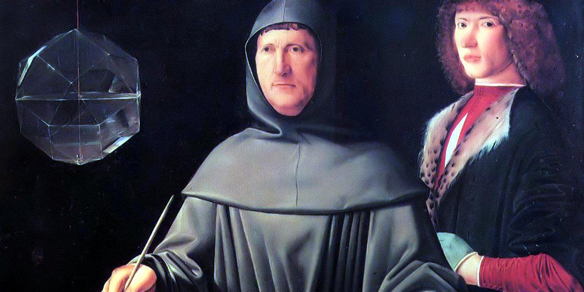 Portrait of Luca Pacioli di Jacopo de' Barbari