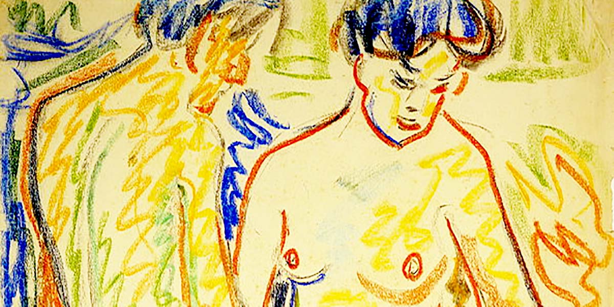 Ernst Ludwig Kirchner: Paar, 1908