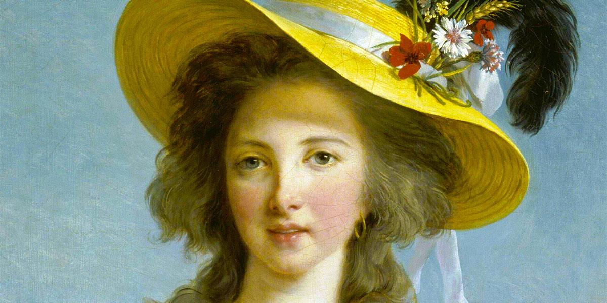 Yolande-Martine-Gabrielle de Polastron, Duchess de Polignac. Louise Élisabeth Vigée Le Brun (1755–1842)
