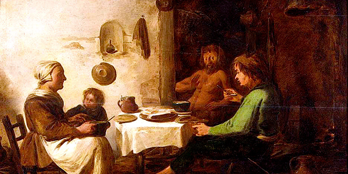 Benjamin Gerritsz. Cuyp - The Satyr and the Peasant Family