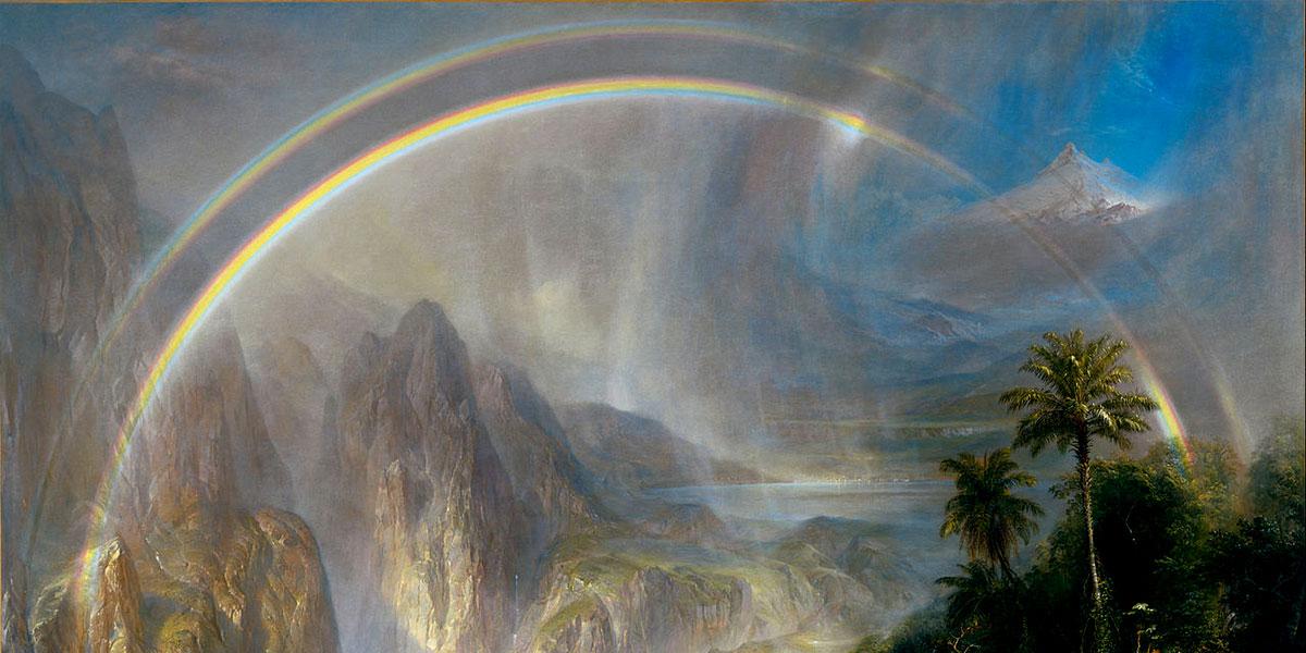 Rainy Season in the Tropics. Frederic Edwin Church (1866)