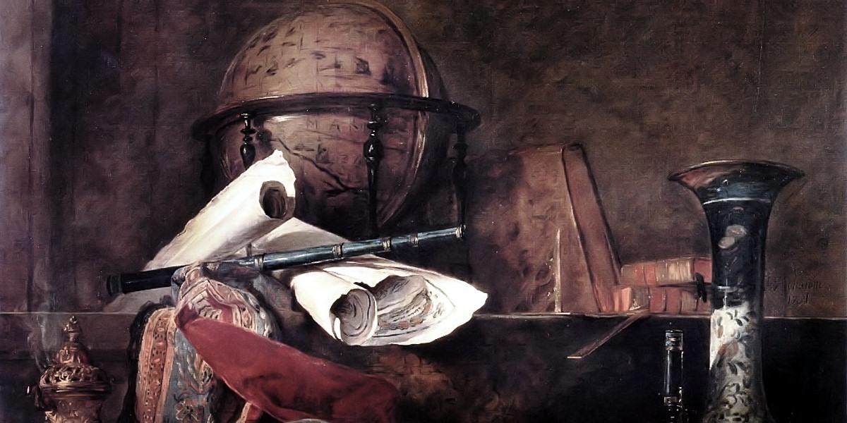 The Attributes of the Sciences. Jean-Baptiste-Simeon Chardin